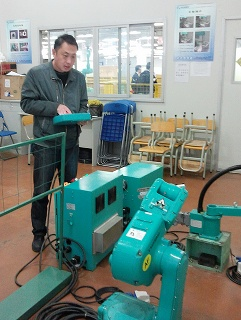 Foxbot training in Jincheng