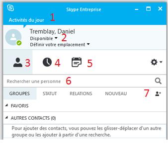 comment enregistrer conversation skype entreprise